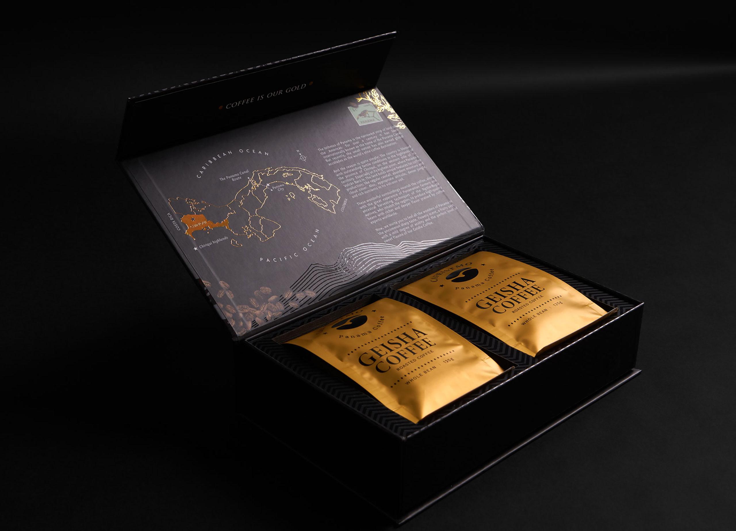 Cafeistmo Geisha Coffee boxset